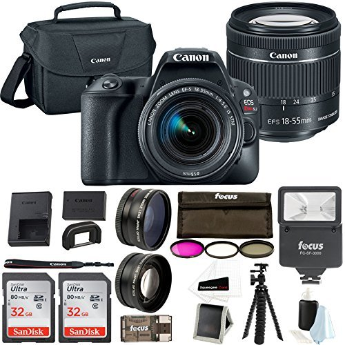 Canon EOS Rebel SL2 Digital Camera with EF-S 18-55mm f/4-5.6 is STM Lens Advanced Photo Travel Bundle Review