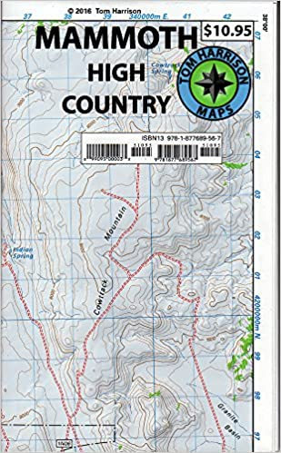 Mammoth high country trail map: Waterproof, tearproof (Tom ... on irvine trail map, mono lake trail map, eugene trail map, bear valley springs trail map, whittier trail map, lone pine trail map, claremont trail map, bend trail map, thousand island lake trail map, missoula trail map, yosemite falls trail map, lemon grove trail map, santa rosa trail map, los altos hills trail map, grand rapids trail map, sycamore trail map, highland trail map, jefferson county trail map, whistler trail map, mammoth bus map,