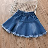 TreeMart Summer Fashion Baby Girls Denim Skirts s