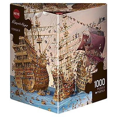 Heye 29570 Corsari Puzzle 1000 Pezzi