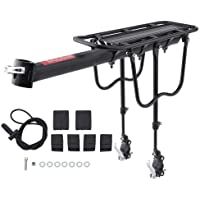 SKYSC - Soporte de liberación rápida para bicicleta, trasero, para equipaje o tija de sillín