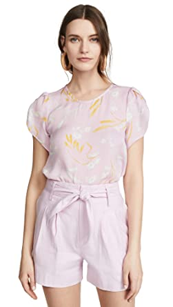 c49fb8ec039a63 Amazon.com: Joie Women's Wira Top, Lavender Rose, Floral, Pink ...