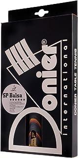 Donier Raquette de Tennis de Table Professionnelle SP-Balsa Pro | Raquette de ping-Pong fabriquée en Europe | Base à 5 Couches, léger, Haute Vitesse | Attaques puissantes, contrôle Intelligent