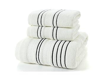 FERFERFERWON Suministros de baño Hotel Quality Hand Towel Toallas de Secado rápido Toalla de algodón 74x34cm