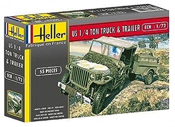 Heller - 79997 - Maqueta para Construir - US 1/4 Ton Truck ...