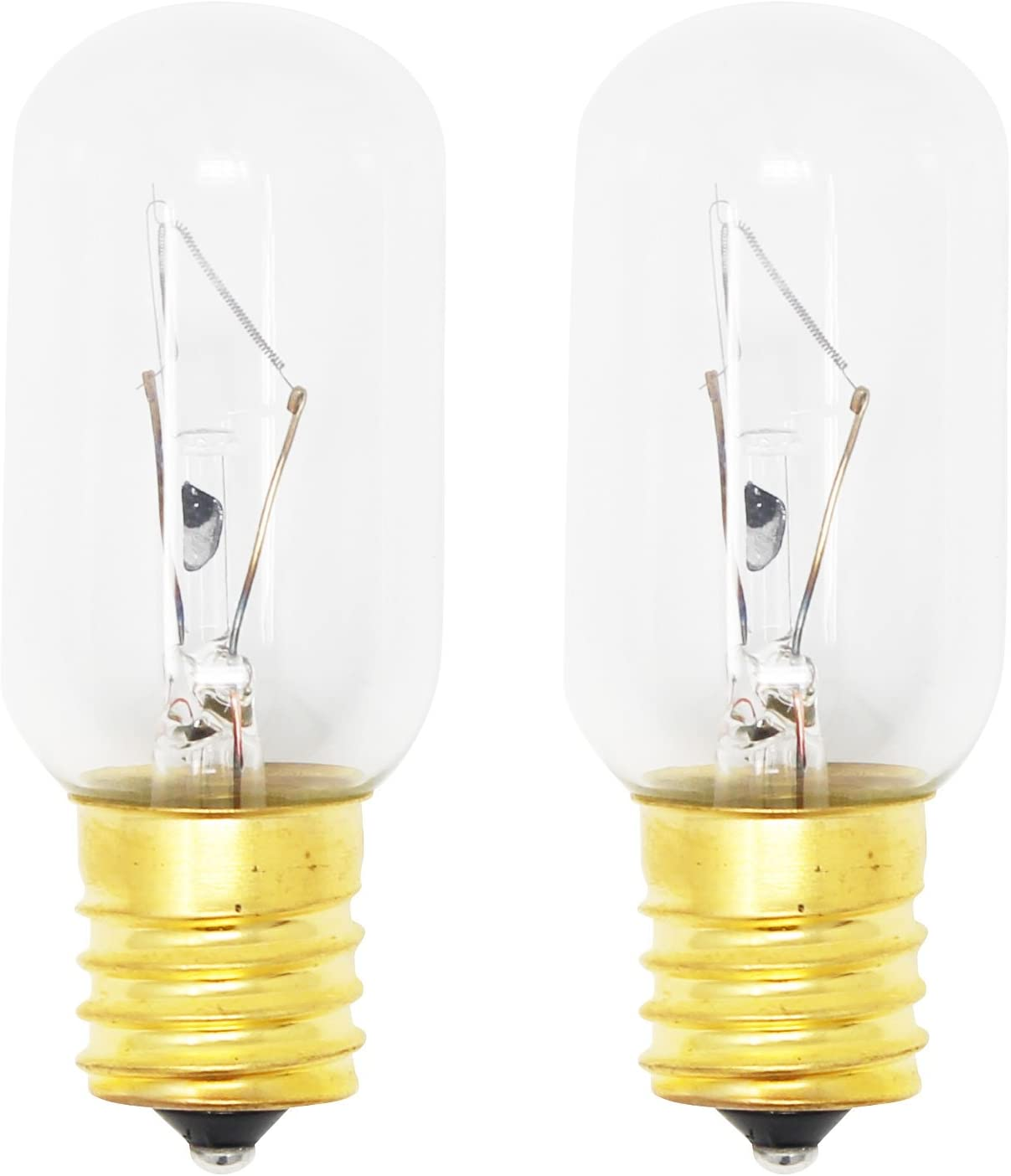 Compatible with General Electric WB36X10003 Light Bulb 2-Pack Replacement Light Bulb for General Electric WB2X4253 Microwave