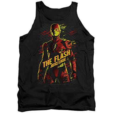 New Justice League Movie FLASH LOGO Adult Tank Top All Sizes