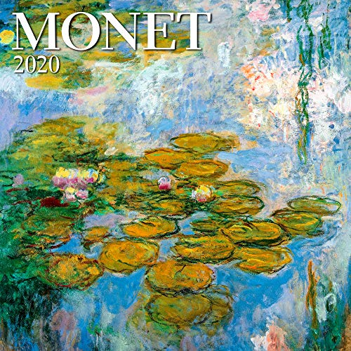 2020 Christmas Paintings - Monet Mini Wall Calendar 2020 Monthly January-December 7