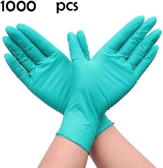 Nokiwiqis Guantes Desechable Nitrilo sin polvo, en Small, Medium, Large Caja 100 Unidades (L, Azul): Amazon.es: Industria, empresas y ciencia
