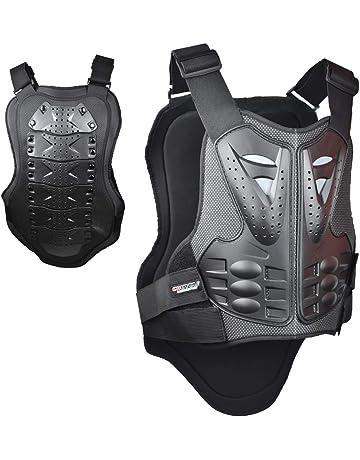 99d184ea madbike Chaleco Armor Protector de motocicleta para protección de pecho y  espalda (Large)