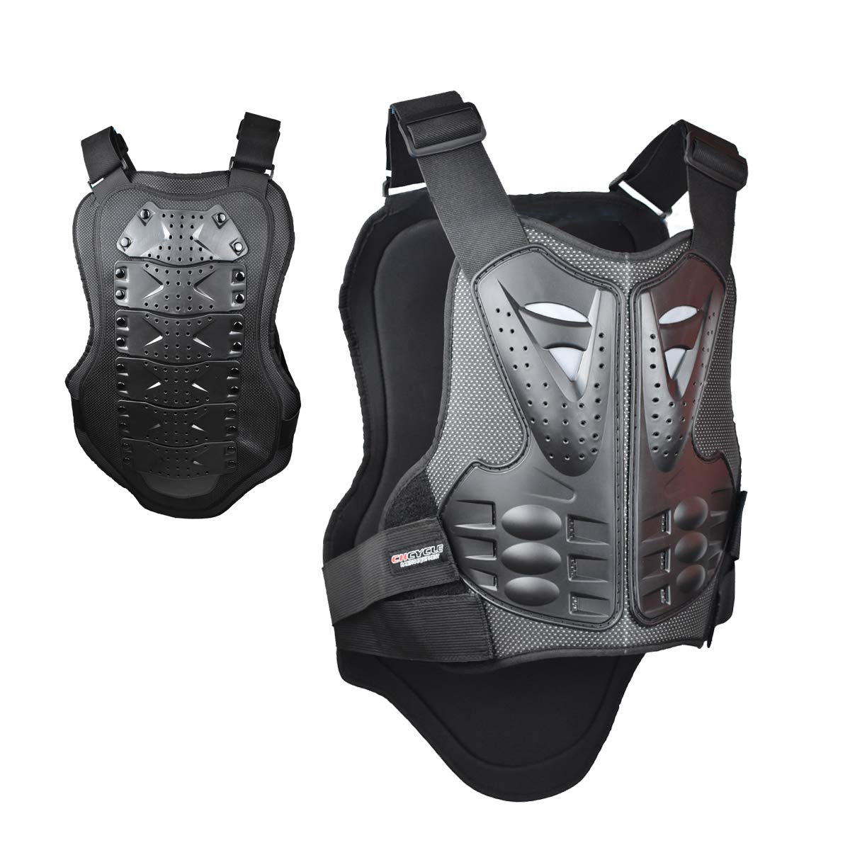 CHCYCLE motorcycle vest armor pretection (X-Large) by CHCYCLE