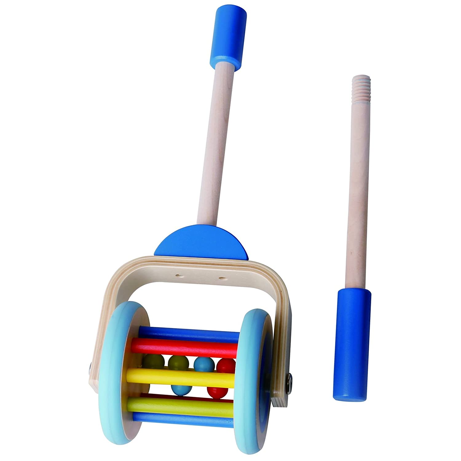 Amazon Timy Wooden Push Along Roller Push and Pull Walking