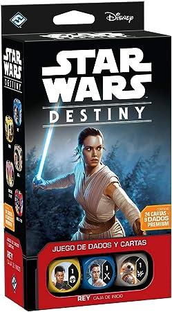 Fantasy Flight Games Star Wars - Caja de Inicio: Rey Destiny, Juego de Mesa (Edge Entertainment EDGSWD02): Amazon.es: Juguetes y juegos