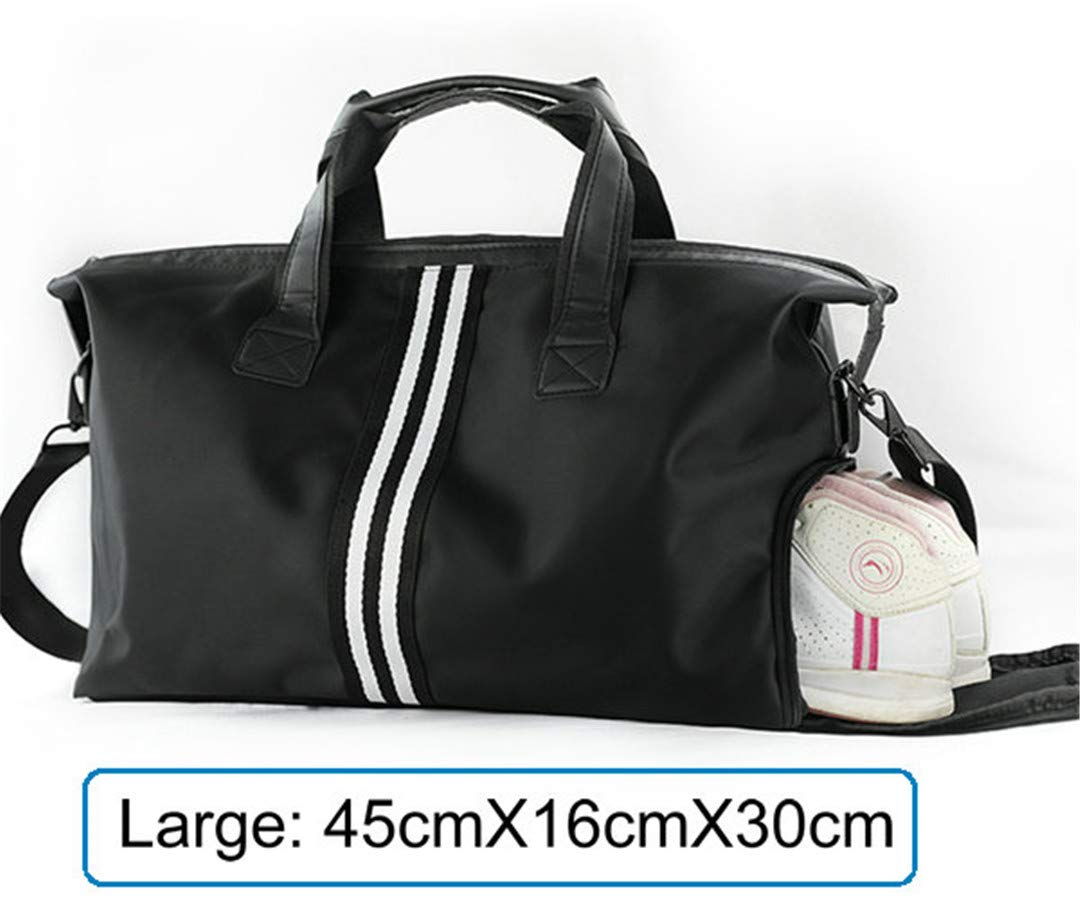 TRAV/&DUFFLGGS Trolley Travel Bag Gray Black Waterproof Nylon Large Capacity Duffle Shoe Bag Big H Luggage Travel Bags