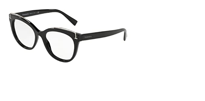 Tiffany TF2166 8001 BLACK EYEGLASS FRAME SIZE 51MM: Amazon.co.uk ...