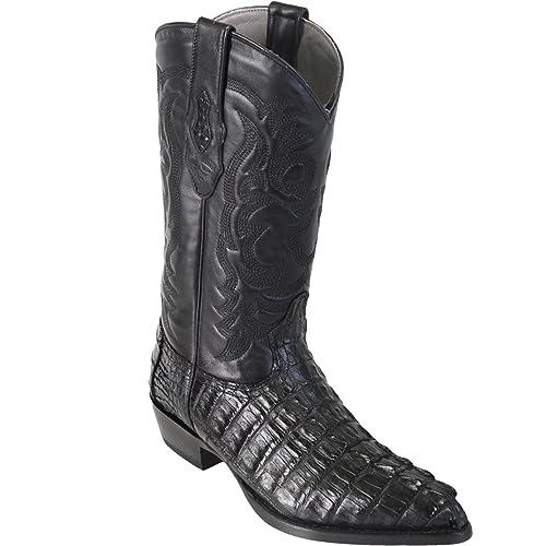 053dacdb8b8 LOS ALTOS BOOTS Mens Caiman Tail J Toe Western Boots