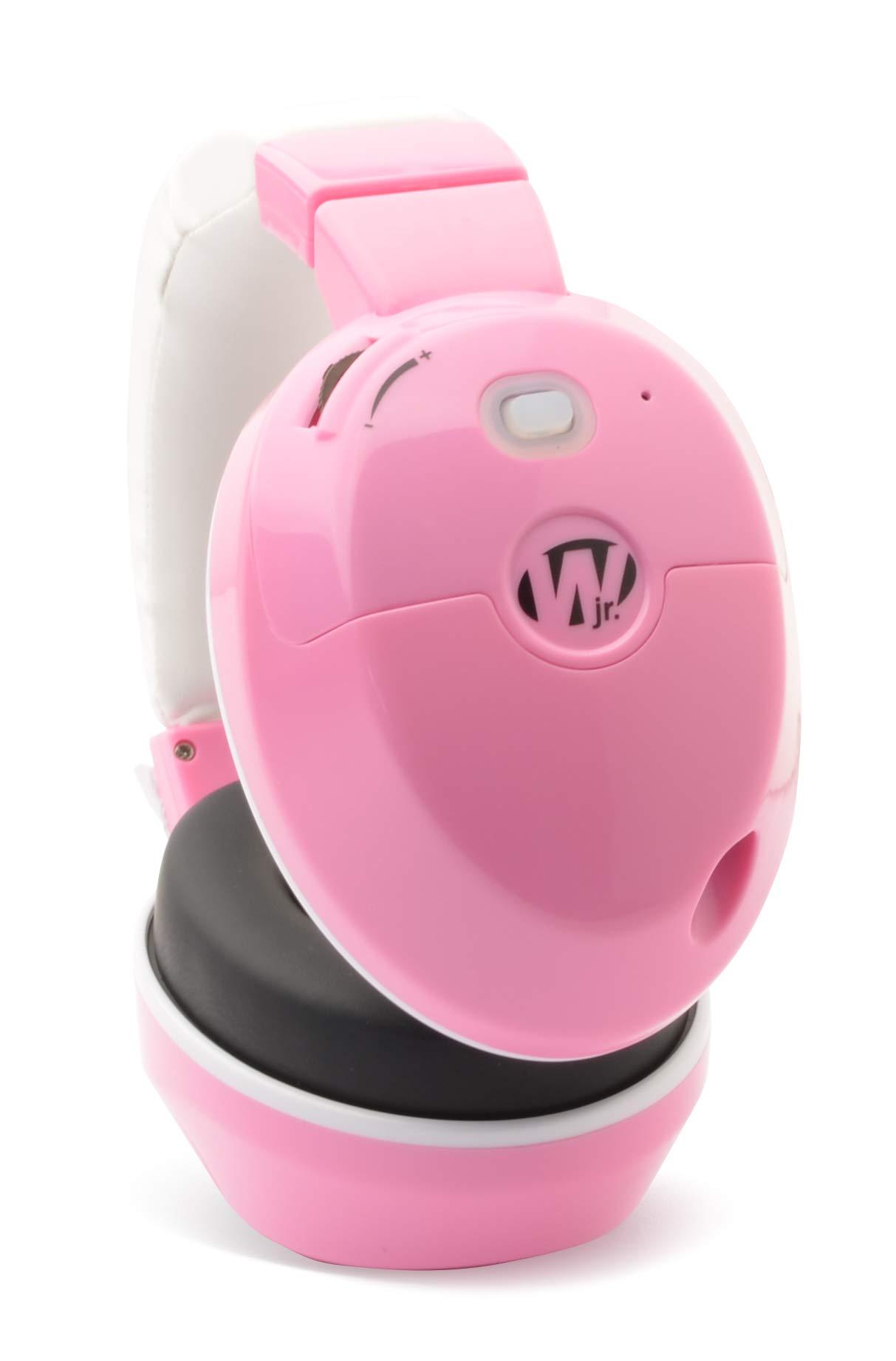 Walker's Game Ear Walker's Jr. Youth Electronic Muff Pink by Walker's Game Ear (Image #3)