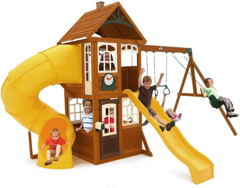 Playset - the ultimate backyard toy for kids