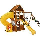 Amazon Com Backyard Discovery Shenandoah All Cedar Wood Playset