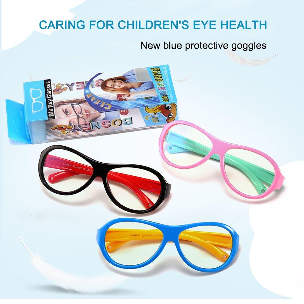 Gafas de computadora ocular dolores con Azul lentes transparentes ...