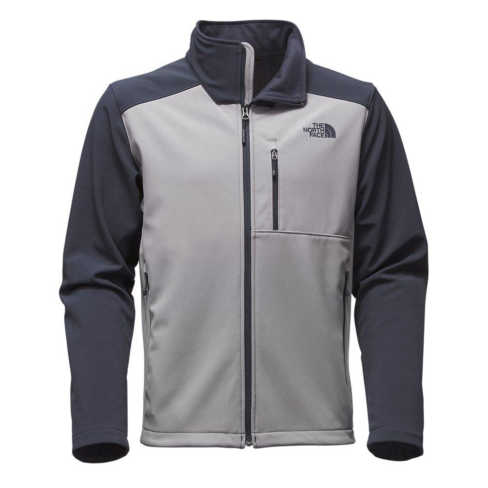 The North Face Apex Bionic Soft Shell Jacket – Men 's B01HS16OK8 Small|Mid Grey/Urban Navy Mid Grey/Urban Navy Small