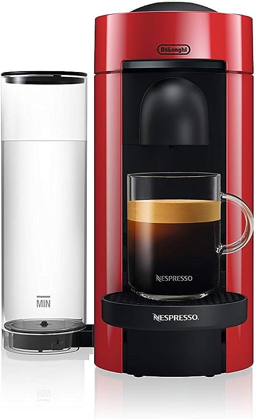 DeLonghi ENV 150.R ENV150.R Vertuo, 1260 W, 1.1 litros, Rojo ...