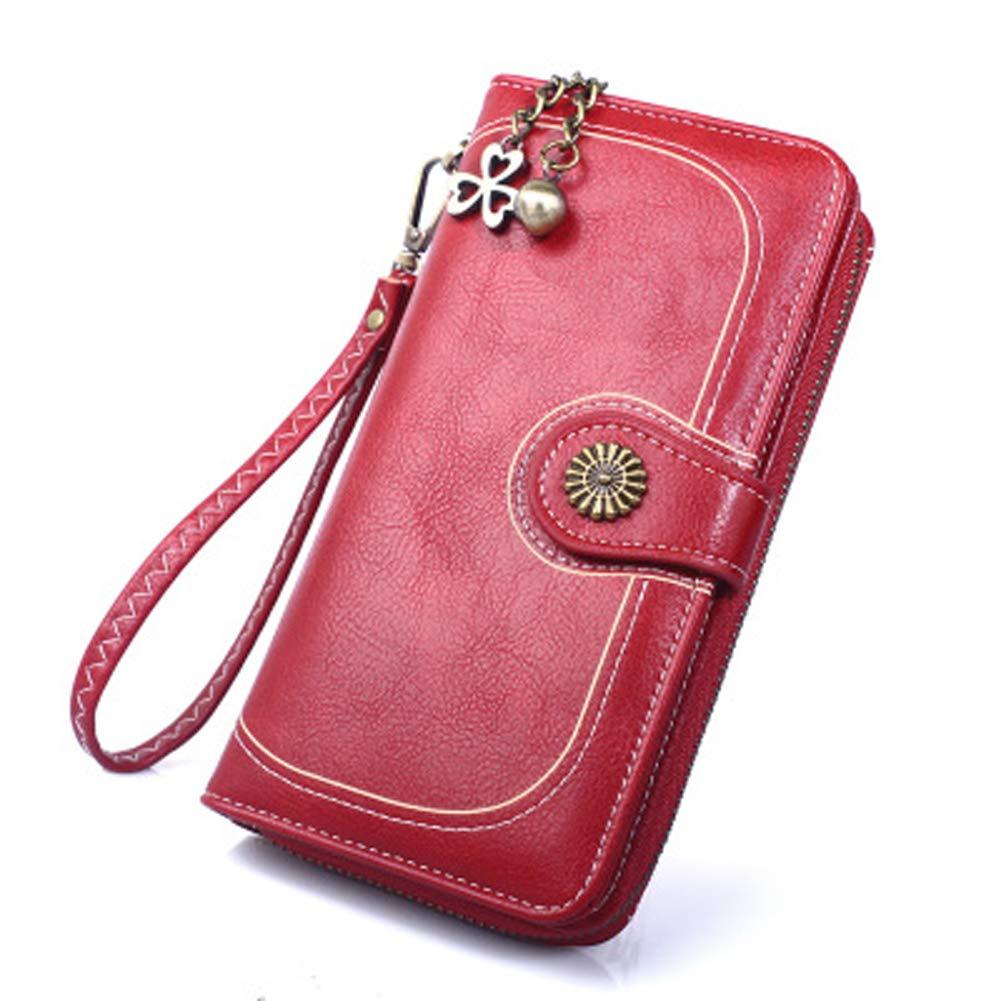 Women's Leather Clutch...