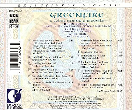 Greenfire: A Celtic String Ensemble by Dorian Recordings