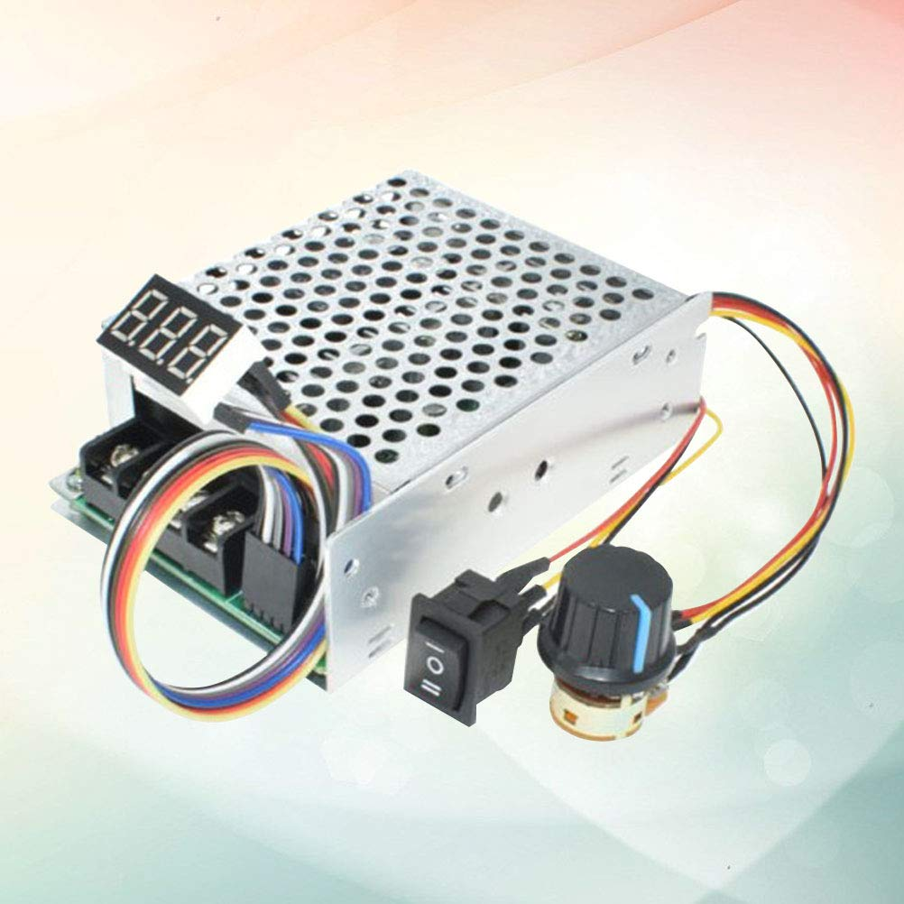 Yardwe PWM-Geschwindigkeitsregler-Board Motor Driver Controller Elektronische Hochleistungsvariable DC12V 36V 48V 24V