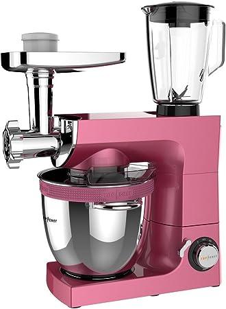 Top Chef 1160800 Top100 - Robot de cocina con amasadora, color rosa: Amazon.es: Hogar