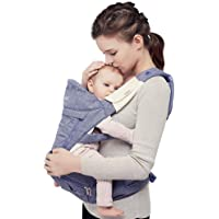 Bebamour Foldable Baby Carrier Hip Seat All Seasons Baby Sling Backpack For Infant & Toddler,Pueple