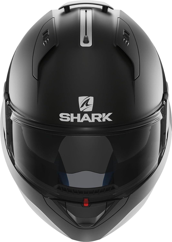 Shark Evo One Blank Mat Matt Black L