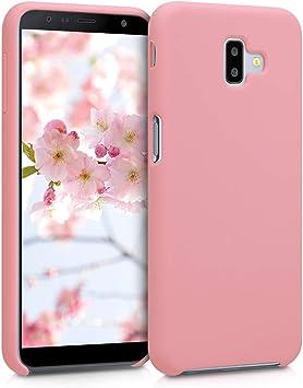 kwmobile Funda Compatible con Samsung Galaxy J6+ / J6 Plus DUOS: Amazon.es: Electrónica