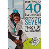 Funny 40th Birthday Card For Men Women 40 Today Joke Humour Amazon
