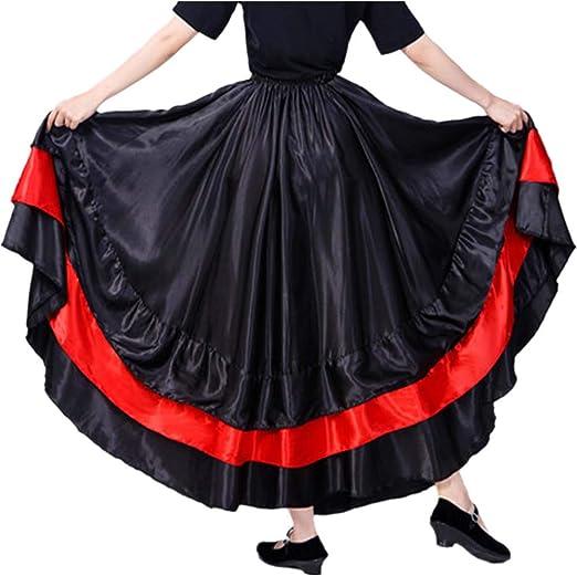 Gypsy Long Sleeve Blouse Belly Dance Costume Practice Dancewear Flowery Top