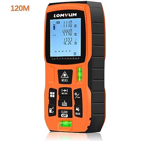 Medidor láser de distancia Huepar Distanciometro telémetro hasta 60 metros medir