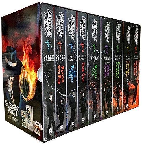 Skulduggery Pleasant Complete Set Books 1-9 (Skulduggery Pleasant, Box Set) (4 Skullduggery Book Pleasant)