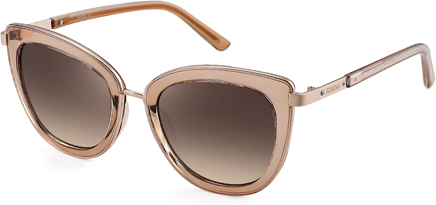 Aviater Sunglasses For Women Mirrored UV 400 Lens Protection Classic Exquisite Metal Frame 0257…