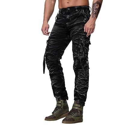Amazon.com: Pantalones de trabajo para hombre de ajuste ...