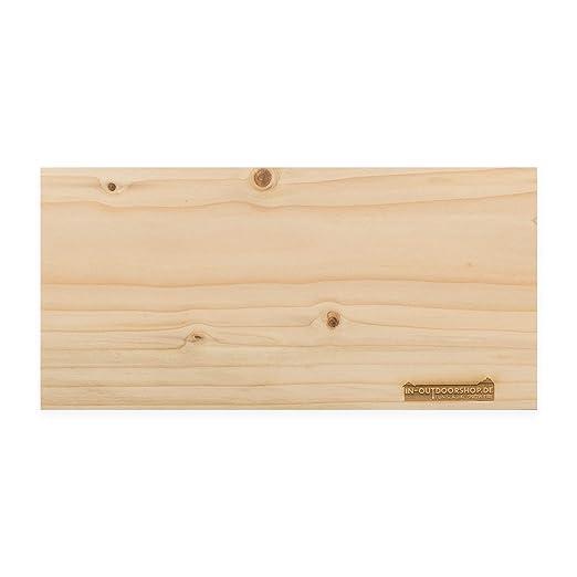 in-outdoorshop plancha barbacoa, hecho de madera de cedro ...