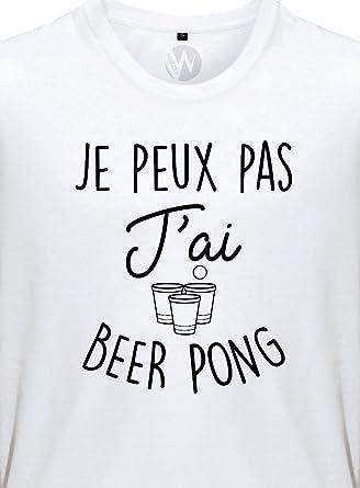 TEEZILY T-Shirt Homme Jpeux Pas JAi bi/ère