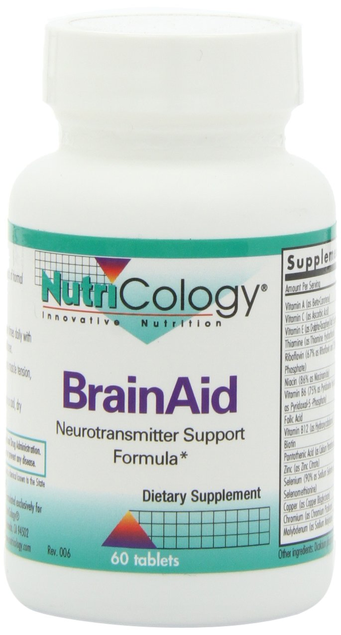 Nutricology Brainaid, Tablets, 60-Count