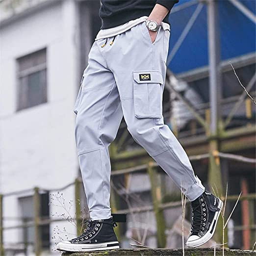 Uteruik Pantalón Deportivo Hombre Causal Pantalones para Correr de ...