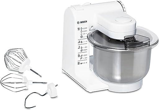 Bosch MUM4407 - Robot de cocina, (capacidad de 3.9 L, 4 velocidades, 500 W), acero inoxidable: Amazon.es: Hogar