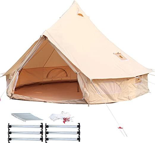 Happybuy Bell Tent Canvas 4-Season Tent image