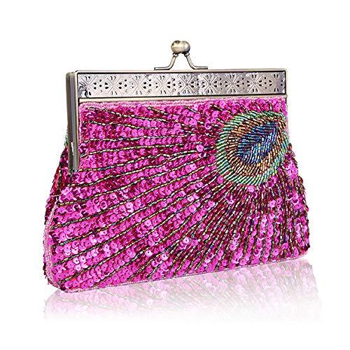 Pochette Femme Argenté pour Silver Fadirew Rose gq7v00