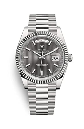 9dc26e1d3475 Amazon.com  Rolex Oyster Perpetual Day Date 40 Automatic Dark ...