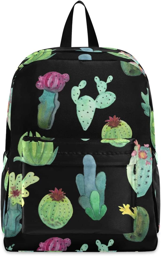 Suitable for Men and Women Outdoor Camping Travel Daypack Casual Bags STAYTOP Cactus Lightweight Backpack University School Bags Laptop Backpack