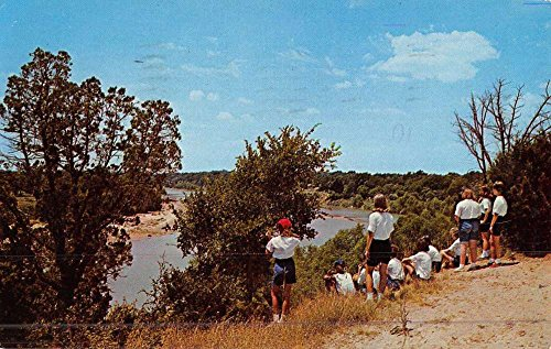 Fort Worth Texas The Point Scenic View Vintage Postcard K46827