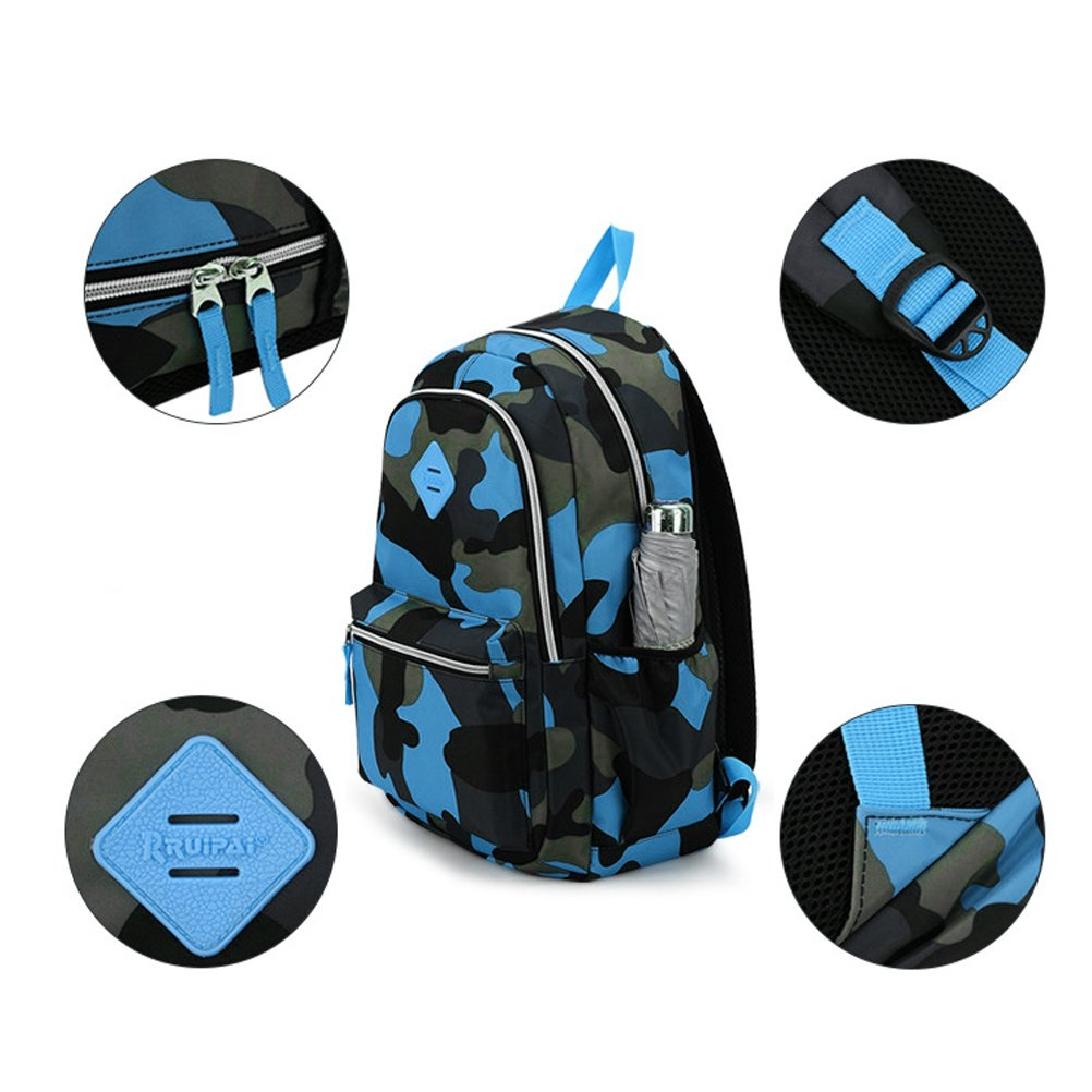 Amazon.com: FEWOFJ Camo Kid Backpack for Primary School, Military Tactical Style Teen Boy Girl Elementary School Bag Travel Casual Daypack Camping Climbing ...